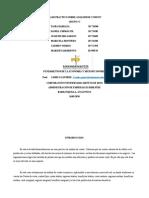 CASO PRACTICO SOBRE ANALISIS DE COSTOS