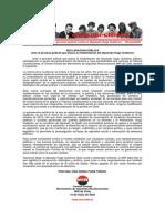 19may2020 - Comité Central - Ante El Proceso Judicial Contra El Diputado Hugo Gutiérrez