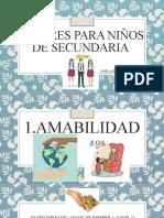 VALORES PARA NIÑOS DE SECUNDARIA-Pamela.pptx