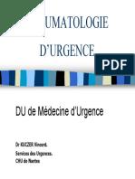 Traumatologie Urg