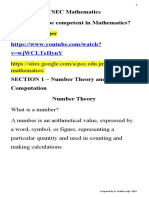 Section 1 - Number Theory and Computation (1).doc