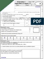 Controle 2-2eme Semestre -2 Annee Inter Mod4 (Www.pc1.Ma)