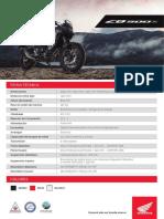 Honda consolida su portfolio de motocicletas con la nueva CB500x