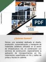 asfalto en colombia por IncoAsfaltos