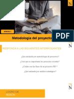METODOLOGÍA DEL PROYECTO SOCIAL 2