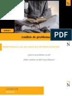 ANALISIS DE PROBLEMAS en PROYECTO