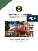 Renstra RSUD Wlingi 2017 - 2021