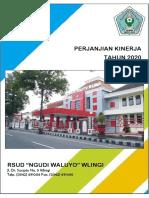 Perjanjian Kinerja RSUD Wlingi 2020