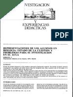 REPRESENTACIONES DE LOS ALUMNOS EN BIOLOGIA ESTADO DE LA CUESTION Y PROBLEMAS PARA SU INVESTIGACION EN EL AULA.pdf