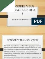 SENSORES Y SUS CARACTERISTICAS1
