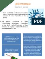 Epidemiología Chagas