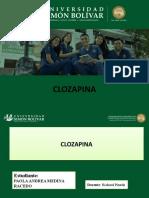 DIAPOSITIVAS DE CLOZAPINA.pptx