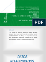 TEMA 3_ Medidas centralización no agrupados