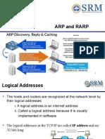 Unit I ARP and RARP