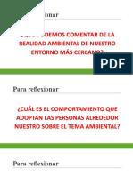 SEM 03 - Conciencia Ambiental