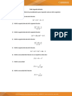 taller segunda derivada