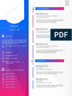 Professional Business Curriculum Vitae CV Resume Cover Letter Template Design in Microsoft Word