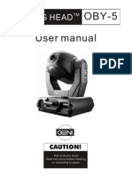 User Manual Oby 5