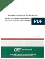 Instructivo Ordenamiento de ramales FEB2018