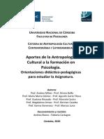 Cuadernillo Antropología- 2020