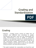 Grading and Standardization
