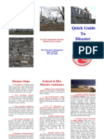Missouri Quick Guide to Disaster Assistance