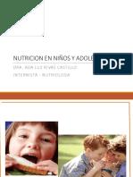 8a. UES 20  NUTRICION EN NIÑOS Y ADOLESCENTES
