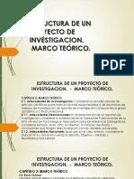 PROYECTO DE INVESTIGACION - MARCO TEORICO