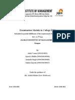 Examination Module