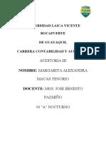 Auditoria III