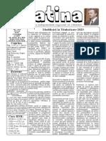 Datina - 20.5.2020 - prima pagină