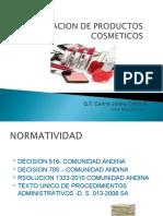 REGULACION SANITARIA DE PRODUCTOS COSMETICOS