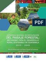 Estrategia nacional de restauración del paisaje forestal