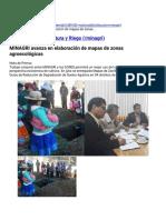 MINAGRI avanza en elaboración de mapas de zonas agroecológicas _ Gobierno del Perú