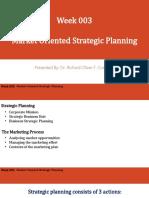 Marketing Management-Week3