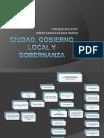 Ciudad, gobierno local y gobernanza