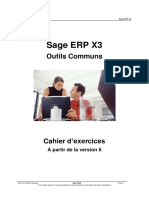 SX302 - Sage ERP X3 Outils communs - v6 1 SE - Support d'exercices