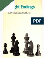 Chekhover, Vitaly_ Averbakh, Yuri - Knight endings