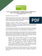 Presentacion de Mario Waissbluth a La Comision de Educacion de La Camara de Diputados