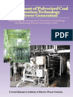 Improvement of pulverized coal combustion technology for power generation