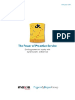 Proactive Service