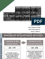 Mecanismos de participación ciudadana GRUPO 5