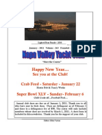 January 2011 Nvyc Newsletter
