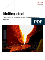 CRISIL melting-steel April 2020