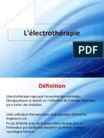 L'Électrothérapie
