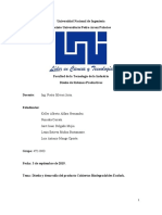 Diseño de sistema productivo-empresa de cubiertos biodegradables