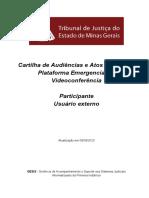 Cartilha EXTERNA de Audiencia videoconferencia -  VERSaO FINAL