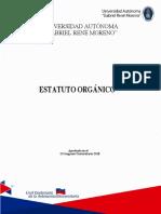 Estatuto Orgánico UAGRM 2018