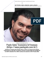 A história de 100 anos de PIB no Brasil - Paulo Gala_ Economia & Finanças