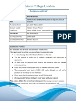 HRVCOS-Assignment Brief Jan 2020
